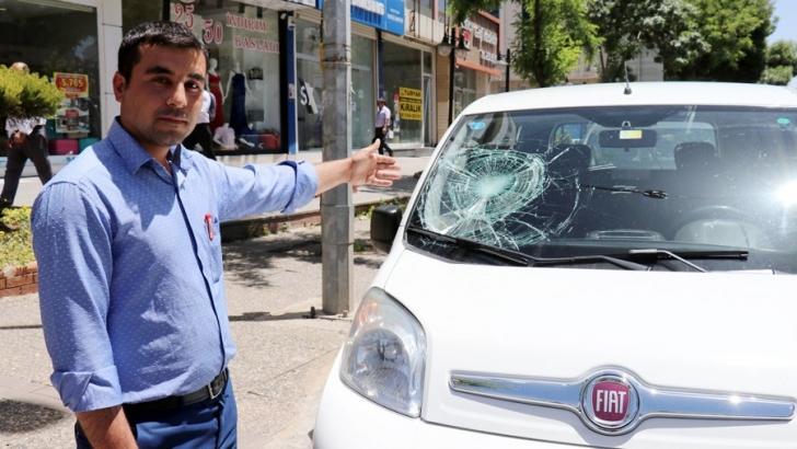 Trafikte korna çaldı diye saldırıya uğradı