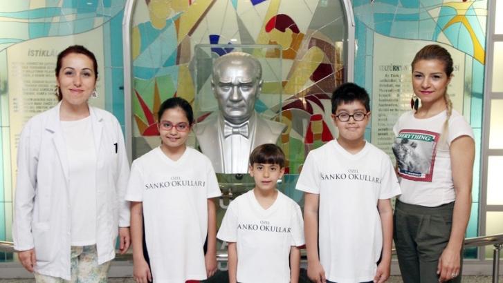 Sanko'lu öğrencilerin başarısı