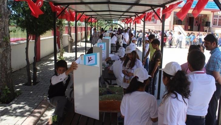 Yavuzeli'nde Tübitak 4006 Bilim Şenliği