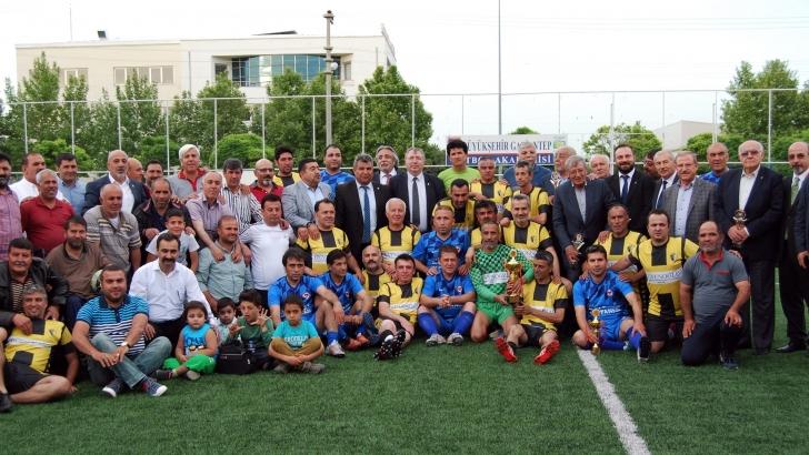Sani Konukoğlu futbol turnuvası tamamlandı