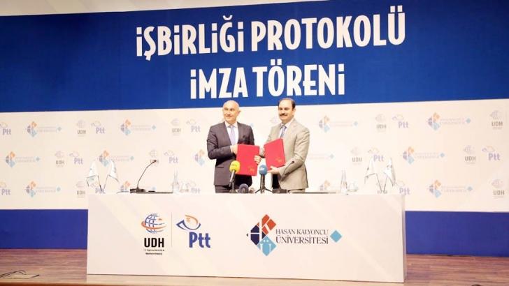 HKÜ ve PTT'den işbirliği