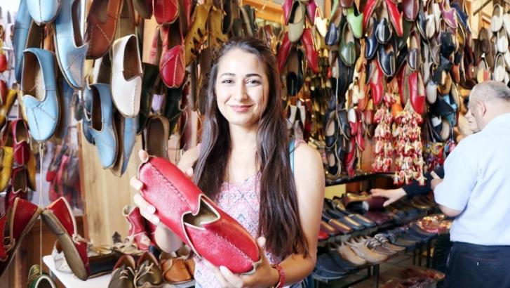 Yemeni ayakkabılara yoğun ilgi