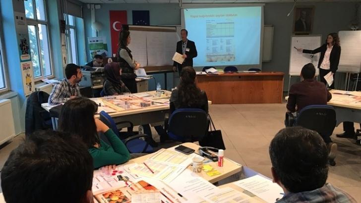 Liseliler ' Mikro Ölçek İş Oyunu' ile iş hayatına hazırlanıyor