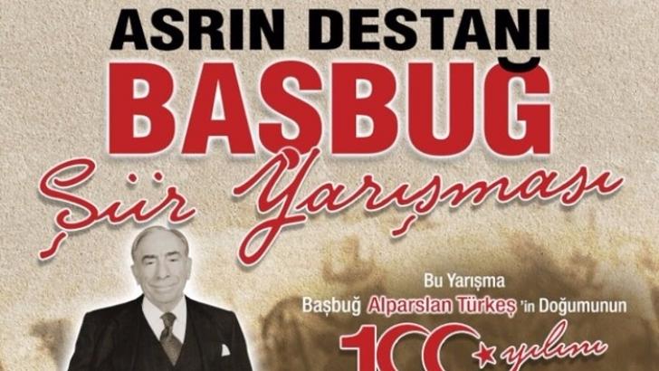 Başbuğ Türkeş için dev şiir yarışması
