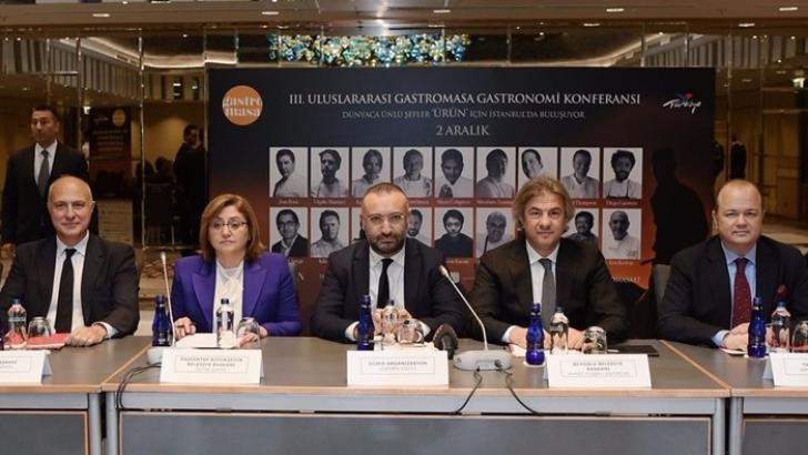 Dünyaca ünlü şefler Gastronomi Konferansı'nda buluşacak