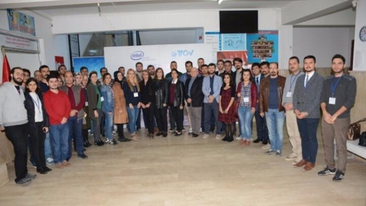 Gaziantep'te 30 öğretmene STEM eğitimi verildi