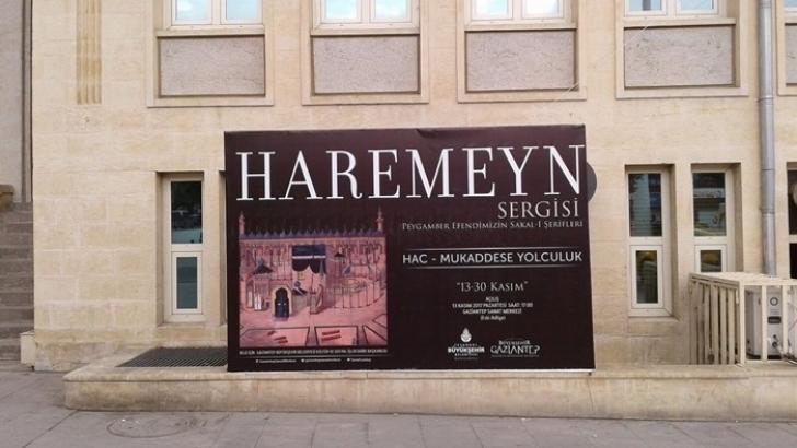 Haremeyn Sergisi Gaziantep'te açılıyor