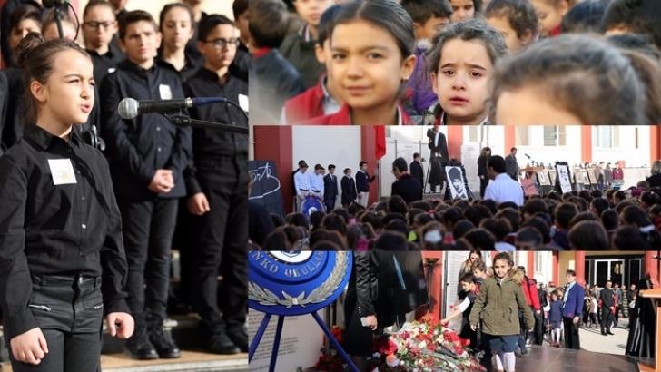 Büyük Önder Atatürk Özel Sanko Okulları'nda da anıldı