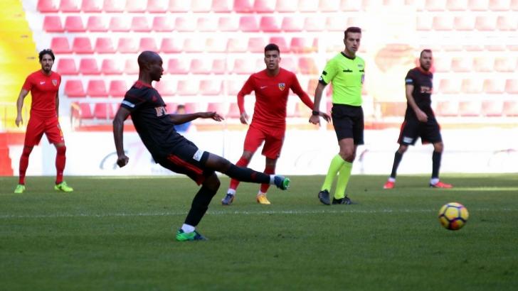 Kayserispor: 2 - Gazişehir Gaziantep FK: 1