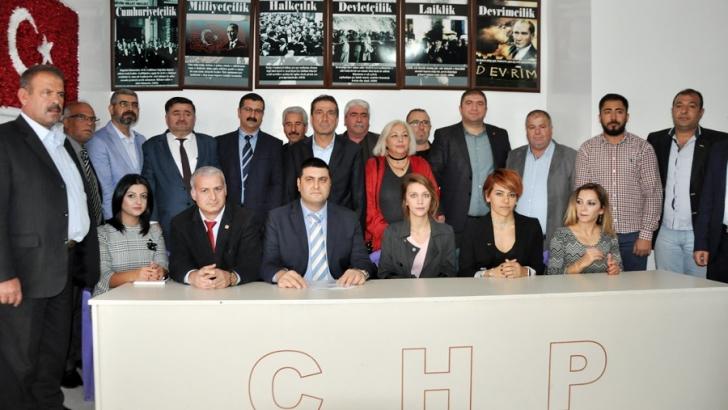 CHP Şehitkamil'de görev dağılımı yapıldı