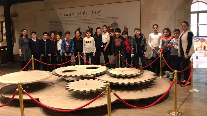 Seçkin Koleji öğrencileri İslam Bilim müzesini gezdi