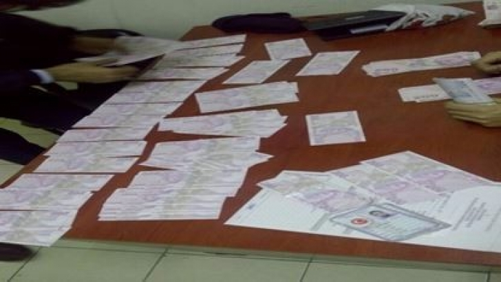 22 bin 600 TL sahte para yakalandı