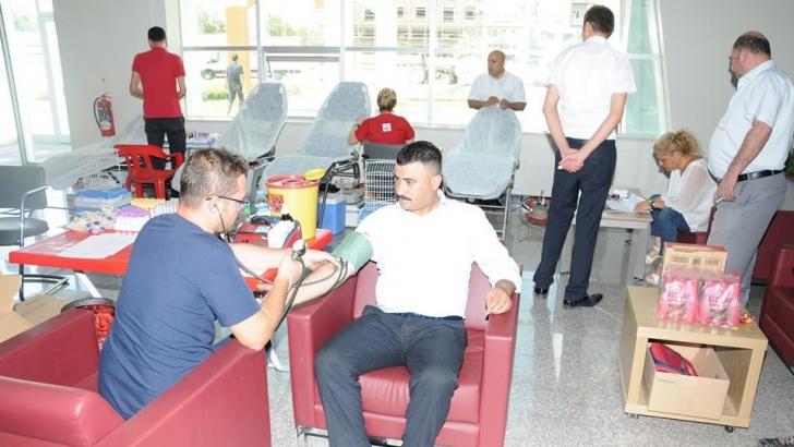 Oğuzeli Belediyesi'nden kan bağışına davet