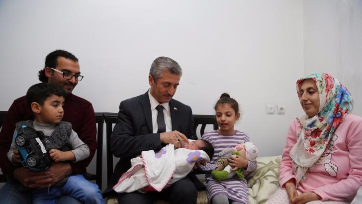 Şahinbey Belediyesi binlerce bebeğe hoşgeldin dedi