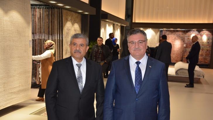 Domotex Kapılarını açtı Türk halıları görücüye çıktı