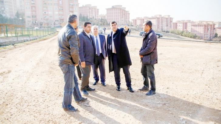 Fadıloğlu, Beykent'teki hizmetleri inceledi