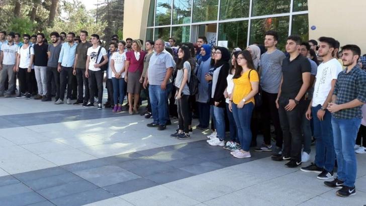 GAÜN'LÜ YENİ ÖĞRENCİLER GAZİANTEP'İ SEVDİ