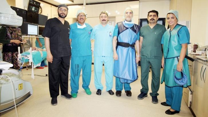 GAÜN Hastanesi'nde Orta Doğu'lu Hekimlere workshop