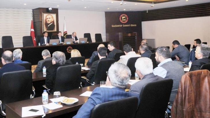 "GSO'DAN ""TİCARET POLİTİKASI SAVUNMA ARAÇLARI TOPLANTISI"""