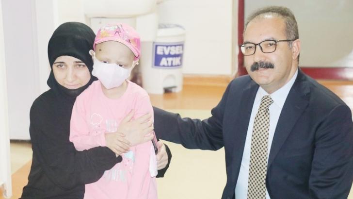 Gaziantep'te ilik nakli yapılan ilk hasta