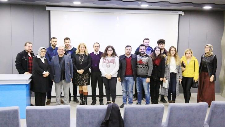 Yazar Tuncer HKÜ'lü öğrencilerle buluştu