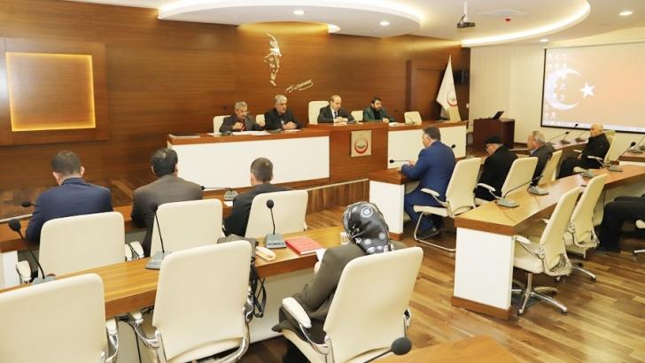Oğuzeli meclisi toplandı