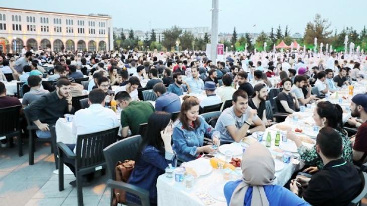 GAÜN'de iftar