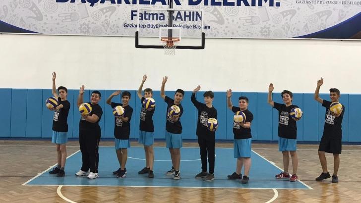 """""""Aktif Çocuklar Spor Okulları"""" projesi"""