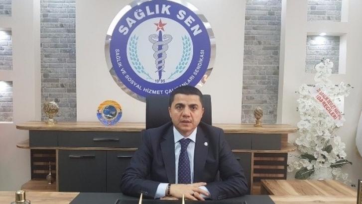 Sağlık çalışanlarından Fatma Şahin'e teşekkür