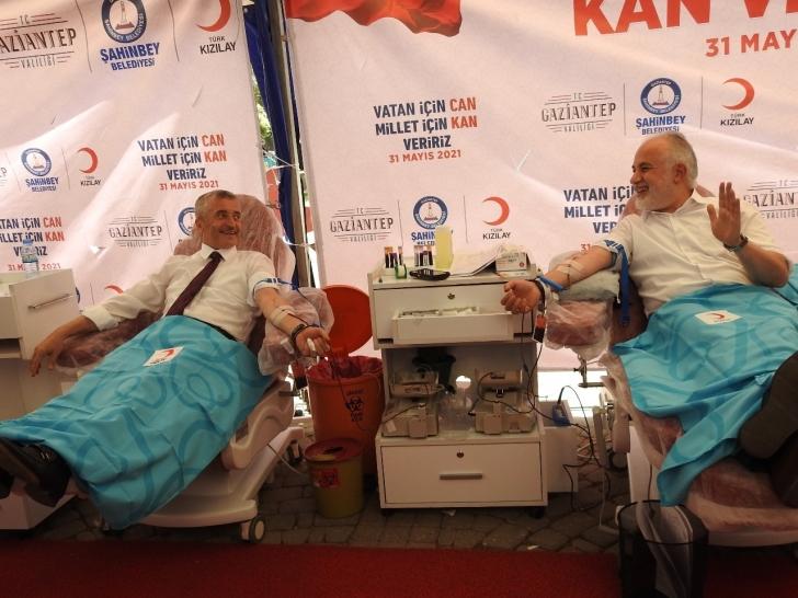 Şahinbey'den kan bağışı kampanyası