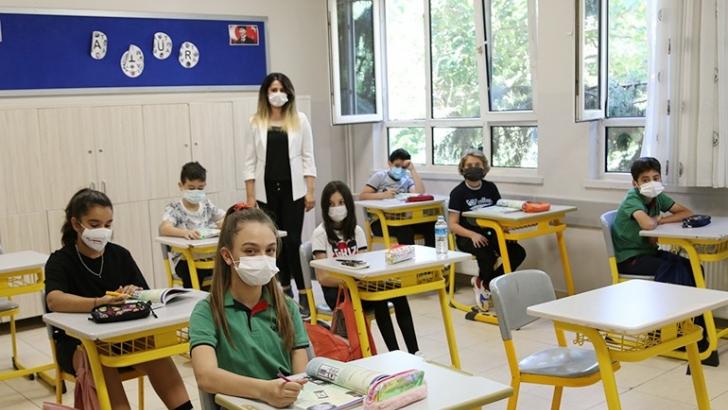 GKV ortaokulu ve liselerinde yüz yüze eğitim heyecanı
