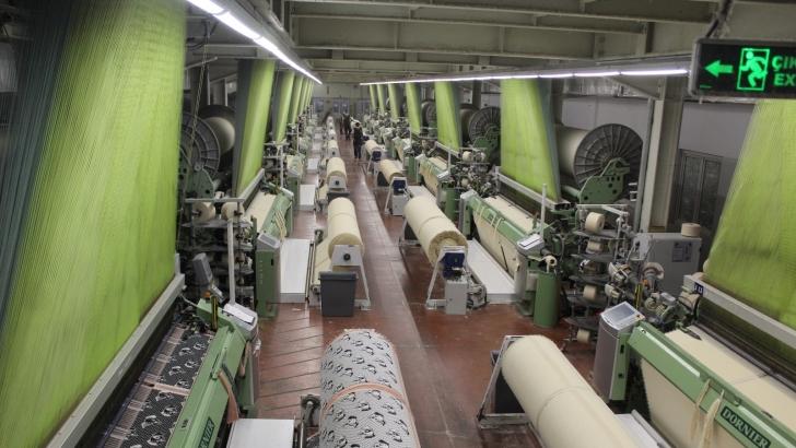 Teknik tekstil üretiminde kullanılan dokunmamış kumaşın yüzde 95'i Gaziantep'ten