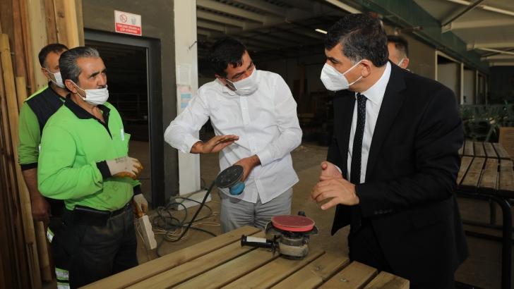 Şehitkamil Belediyesi kaynakları verimli kullanarak hizmet maliyetini düşürüyor