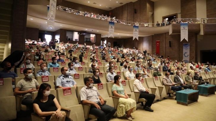 Büyükşehir'den personellere Covid-19 aşı teşviki konusunda bilgilendirme eğitimi