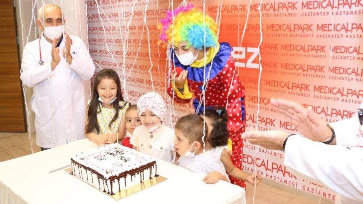 Lösemili çocuklar için eğlence düzenlendi