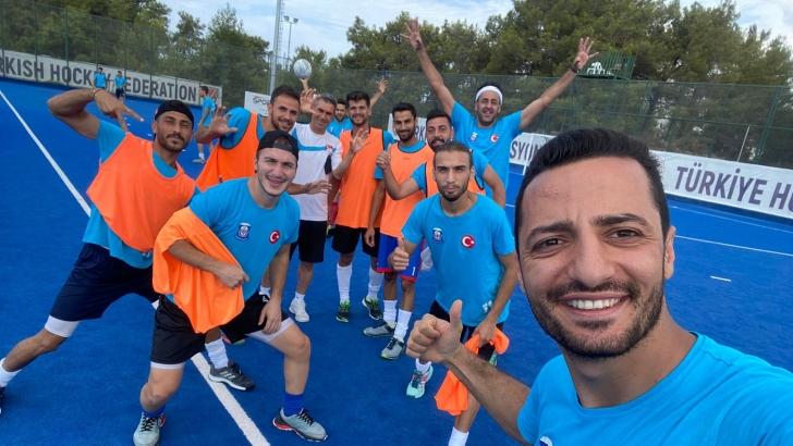 Gaziantep Polisgücü Avrupa Şampiyonası için Alanya kampında