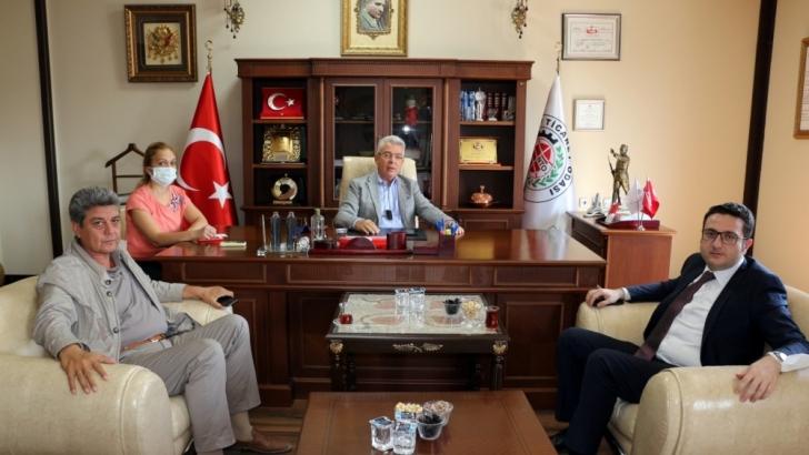 Ticaret Bakanlığı Destek Hizmetleri Dairesi Başkanlığı'ndan NTO'ya ziyaret