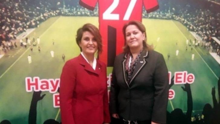 Gaziantep'te spora kadın eli