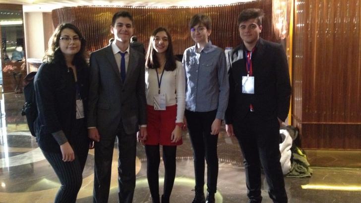 Cemil Alevli Koleji 21.Ulusal Seçim Konferansında