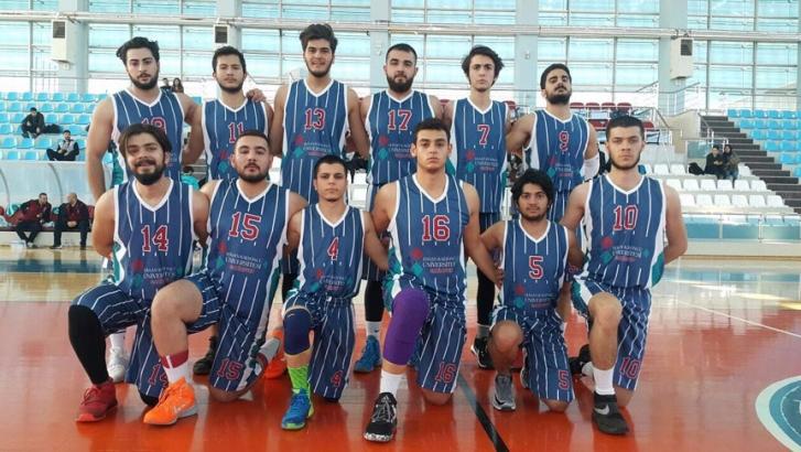 HKÜ basketbolda üçüncü oldu