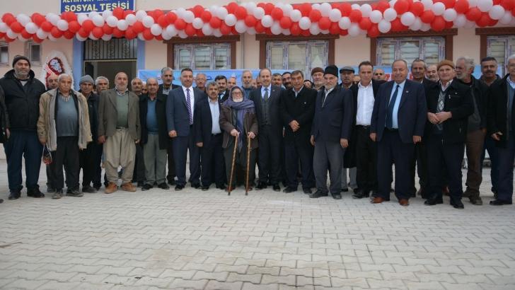 Altınyurt sosyal tesisi hizmete açıldı